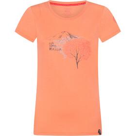 La Sportiva Bloom T-Shirt Dames, flamingo